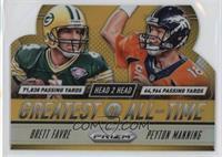 Brett Favre, Peyton Manning /10
