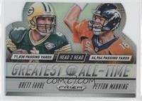 Brett Favre, Peyton Manning