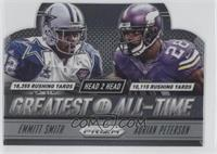 Adrian Peterson, Emmitt Smith