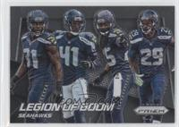 Byron Maxwell, Earl Thomas, Kam Chancellor, Richard Sherman