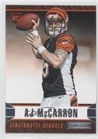 AJ McCarron (Ball next to RC Logo)