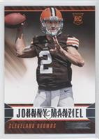 Johnny Manziel (Arm Cocked, No Laces Visible)