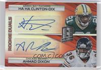Ahmad Dixon, Ha Ha Clinton-Dix /10