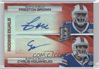 Cyrus Kouandjio, Preston Brown /10