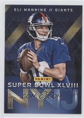 2014 Panini Super Bowl XLVIII - New York Giants #1 - Eli Manning