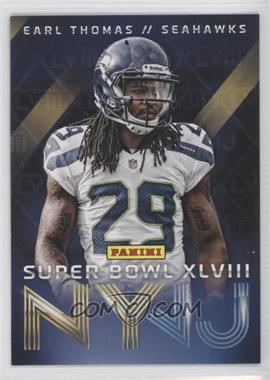 2014 Panini Super Bowl XLVIII - Seattle Seahawks #7 - Earl Thomas