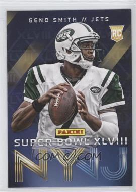 2014 Panini Super Bowl XLVIII New York Jets #1 - Geno Smith