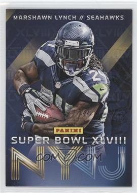 2014 Panini Super Bowl XLVIII Seattle Seahawks #2 - Marshawn Lynch