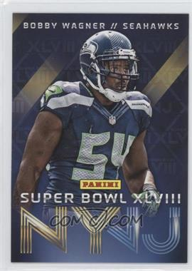 2014 Panini Super Bowl XLVIII Seattle Seahawks #9 - Bobby Wagner