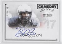 Brandon Coleman /150