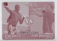 Blake Bortles, Teddy Bridgewater /1
