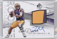 Rookie Patch Autographs - Zach Mettenberger /550