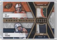 Steve Young, Jim Kelly /25