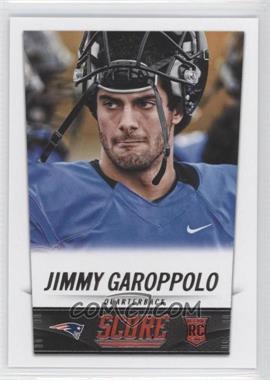 2014 Score - [Base] #386 - Jimmy Garoppolo
