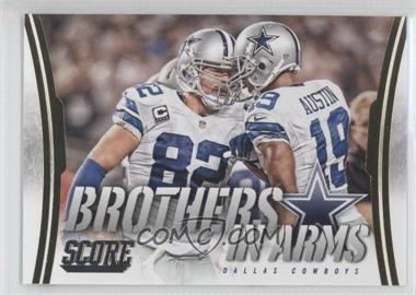 2014 Score - Brothers in Arms - Gold #BA-9 - Dallas Cowboys
