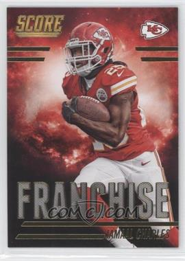 2014 Score - Franchise - Gold #F11 - Jamaal Charles