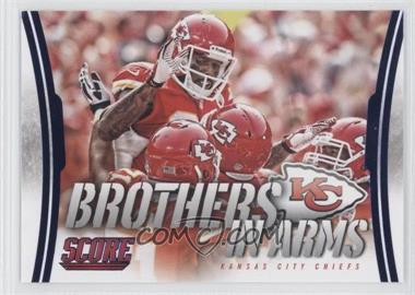 2014 Score Brothers in Arms #BA-16 - Kansas City Chiefs