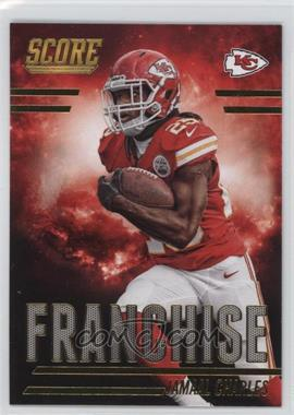 2014 Score Franchise Gold #F11 - Jamaal Charles