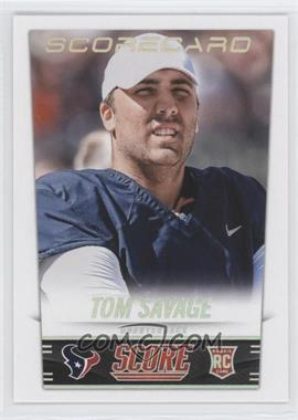 2014 Score Scorecard #385 - Tom Savage