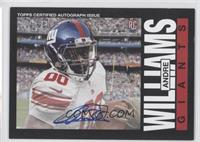 Andre Williams /150