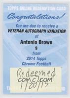 Antonio Brown [REDEMPTIONBeingRedeemed]