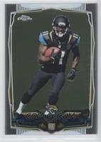 Marqise Lee (Leaning Towards Right Side of Card)