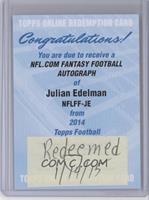 Julian Edelman /25 [REDEMPTION Being Redeemed]
