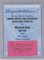 Michael Sam /50 [REDEMPTION Being Redeemed]