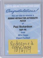 Paul Richardson [REDEMPTION Being Redeemed]
