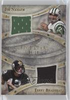 Joe Namath, Terry Bradshaw /10
