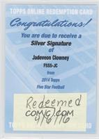 Jadeveon Clowney /60 [REDEMPTION Being Redeemed]