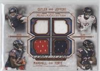 Jay Cutler, Alshon Jeffery, Brandon Marshall, Matt Forte /50