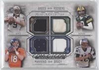 Drew Brees, Aaron Rodgers, Peyton Manning, Tom Brady /99