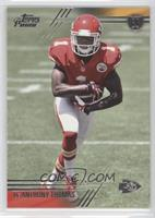 De' Anthony Thomas (Two hands on ball)