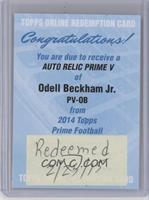 Odell Beckham Jr. [REDEMPTION Being Redeemed]
