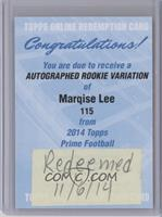 Marqise Lee [REDEMPTION Being Redeemed]
