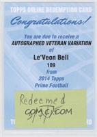 Le'Veon Bell [REDEMPTION Being Redeemed]