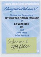 Le'Veon Bell [REDEMPTIONBeingRedeemed]