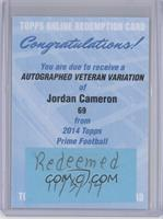 Jordan Cameron [REDEMPTION Being Redeemed]