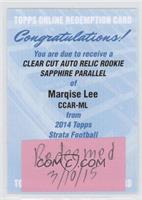 Marqise Lee /75 [REDEMPTION Being Redeemed]