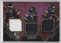 Alshon Jeffery, Ka'Deem Carey, Matt Forte /27