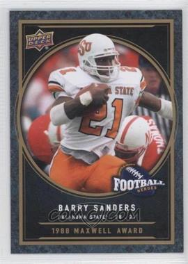 2014 Upper Deck College Football Heroes #CFH-BS - Barry Sanders