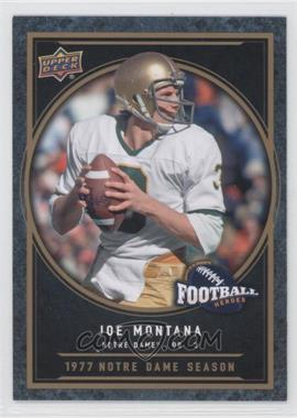 2014 Upper Deck College Football Heroes #CFH-JM - Joe Montana