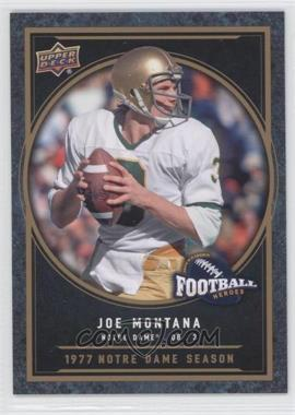 2014 Upper Deck College Football Heroes #CFH-JM - Joe Montana