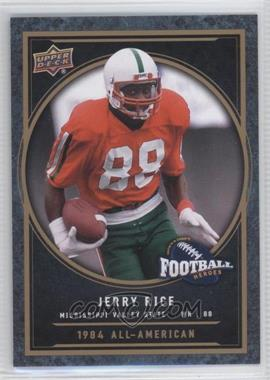 2014 Upper Deck College Football Heroes #CFH-JR - Jerry Rice