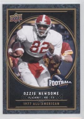 2014 Upper Deck College Football Heroes #CFH-ON - Ozzie Newsome