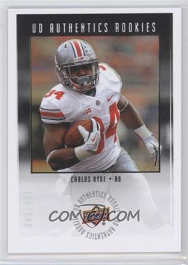 2014 Upper Deck UD Authentics Rookies #UA-11 - Carlos Hyde /430