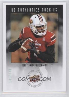 2014 Upper Deck UD Authentics Rookies #UA-32 - Teddy Bridgewater /430