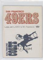 San Francisco 49ers, Baltimore Colts