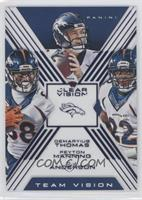 C.J. Anderson, Demaryius Thomas, Peyton Manning /99